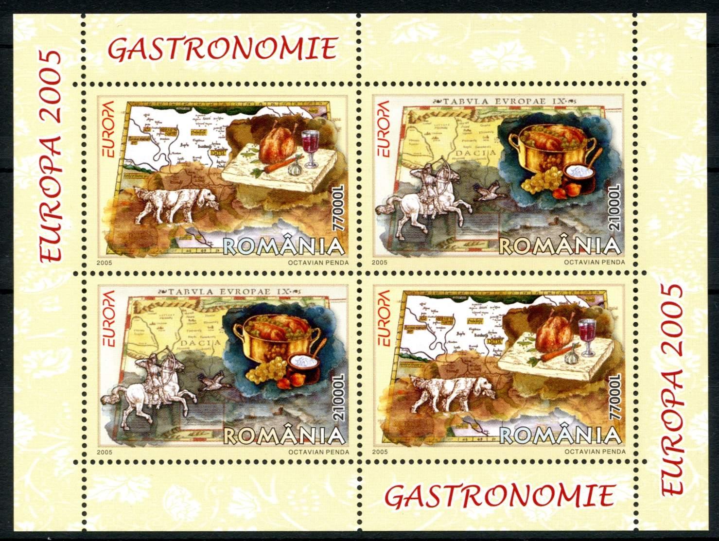 mnh D Europa Cept 2005 Gastronomie Spanisch Andorra **