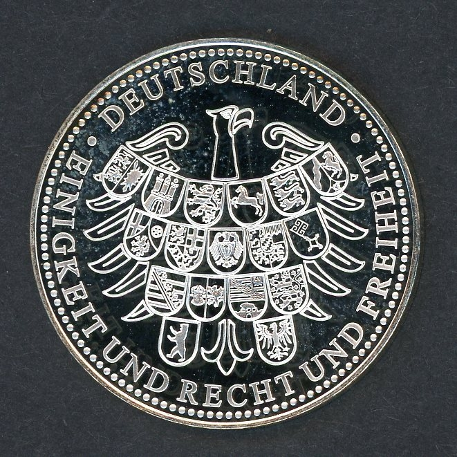 Bund Medaille Fall Der Mauer 1989 Pp Aix Phila Shop