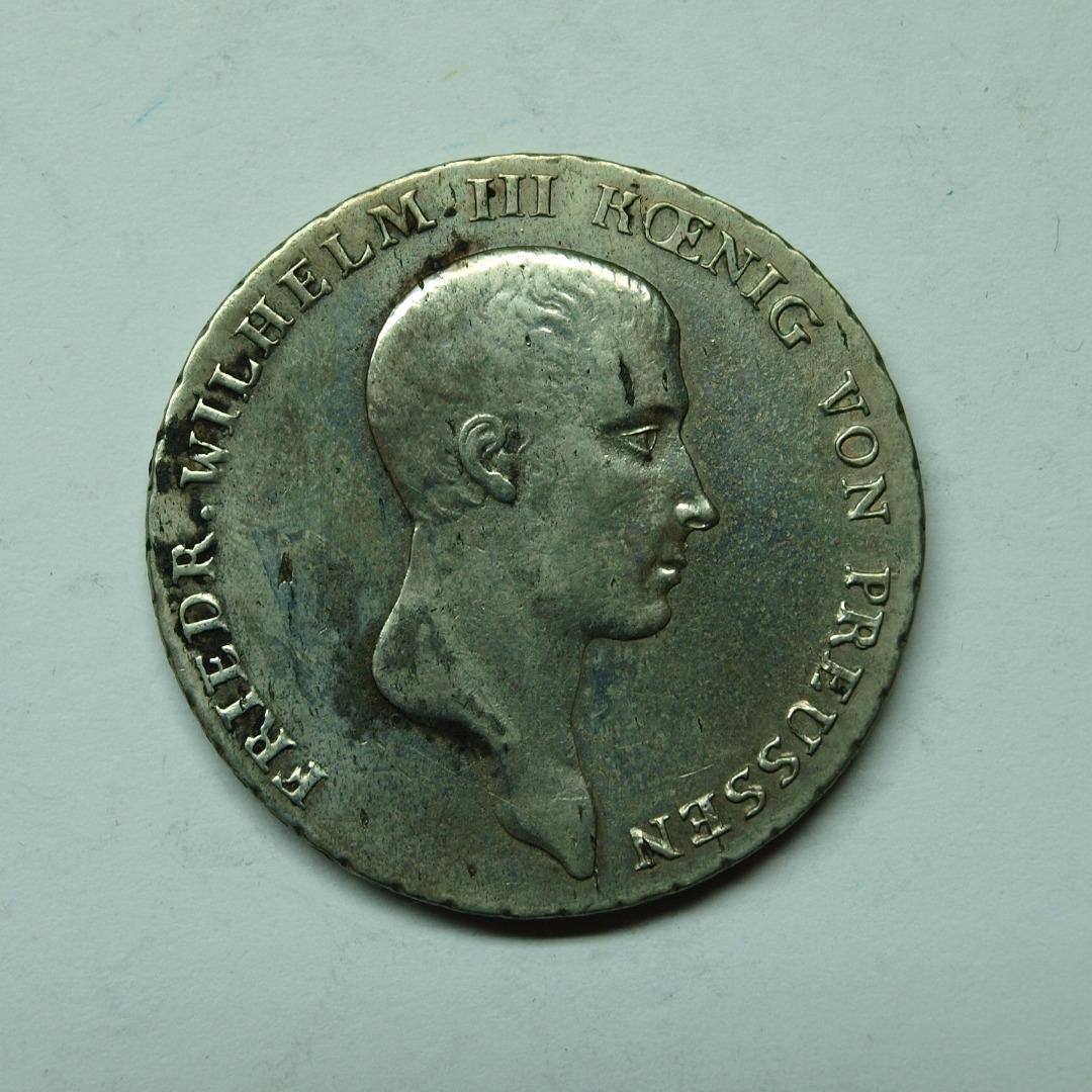 Preussen 1814 A 1 Taler König Friedrich Wilhelm Iii Aix Phila Shop
