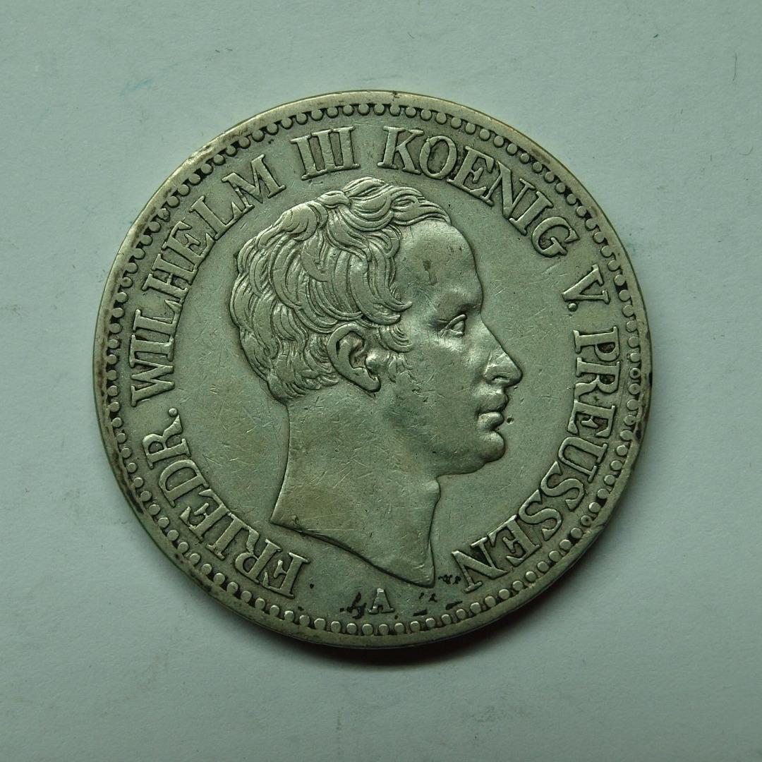 Preussen 1828 A 1 Taler König Friedrich Wilhelm Iii Vz Aix Phila Shop