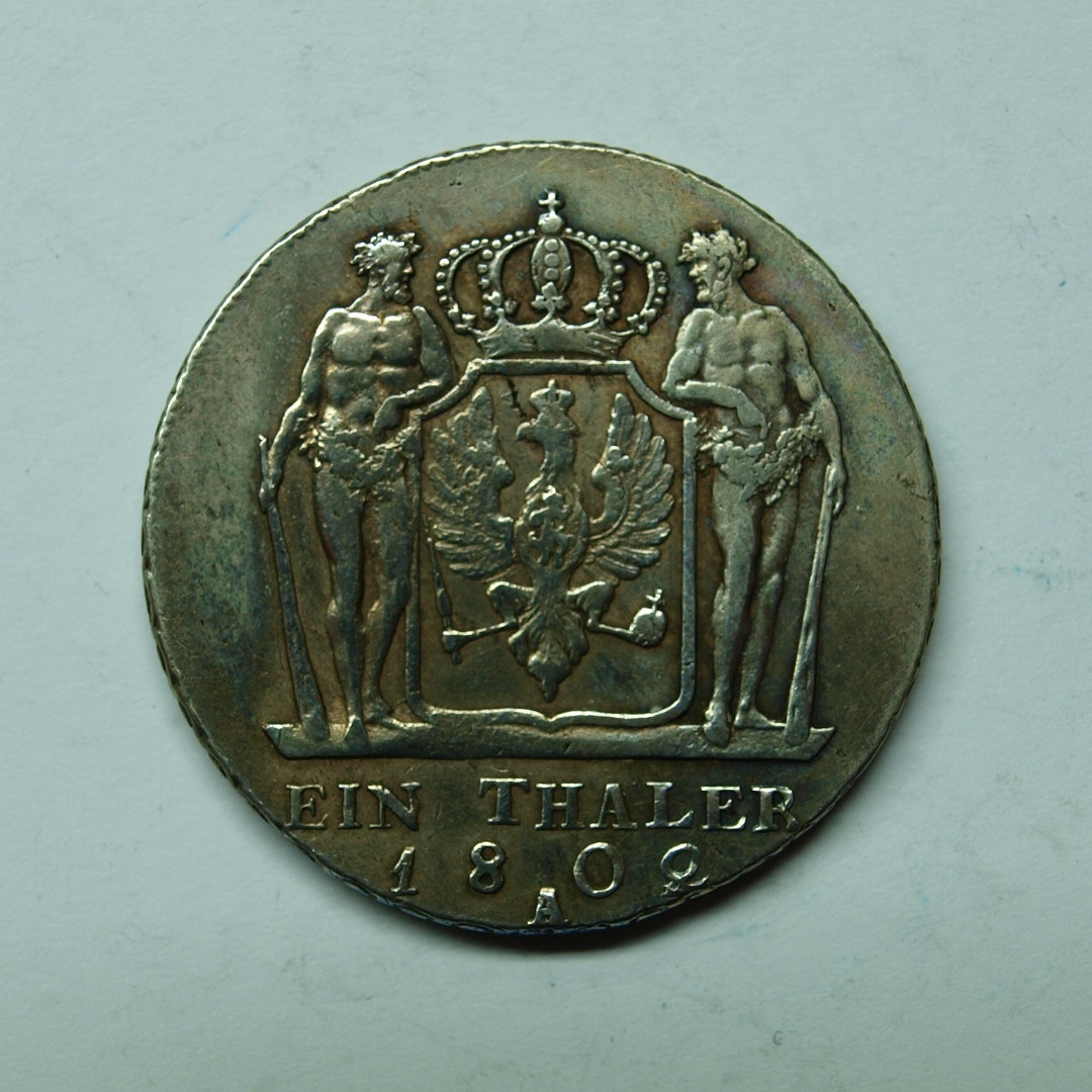 Brandenburg Preussen 1802 A Taler König Friedrich Wilhelm Iii Vz