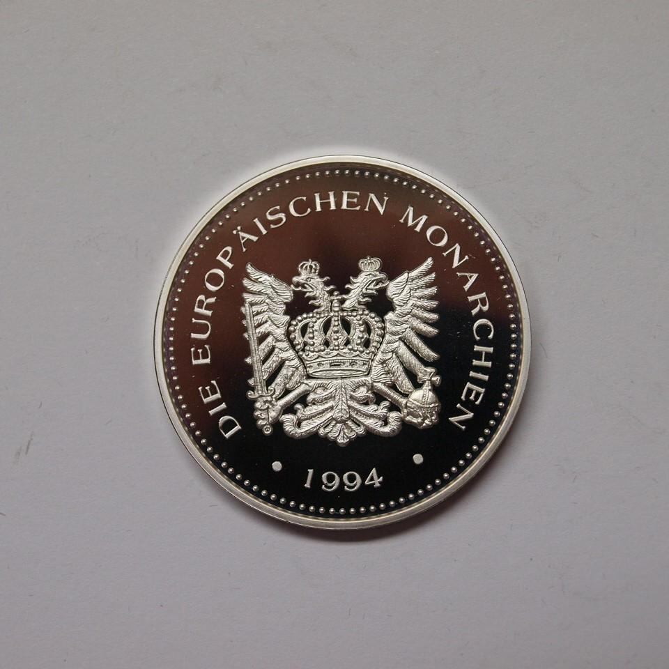österreich 1994 Medaille Kaiserin Elisabeth Sissi Silber Pp Aix