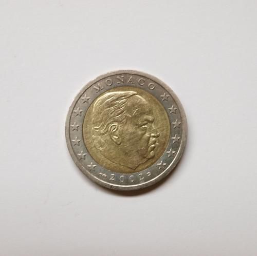 Monaco 2002 2 Euro Aix Phila Shop
