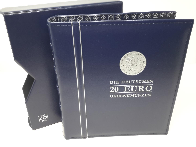 Leuchtturm Optima Münzalbumka Für 20 Euro Münzen 2016 Gebraucht