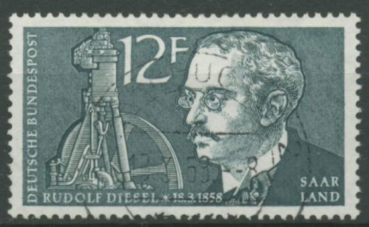 Opd Saarbrücken 1958 100 Geburtstag Von Rudolf Diesel 432