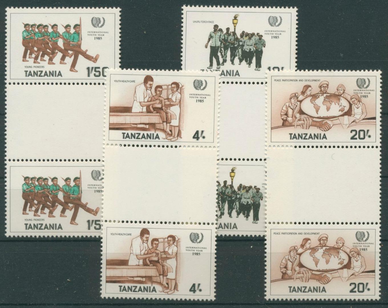 Tansania 1986 Jahr der Jugend 288/91 Zwischenstegpaare postfrisch (R20595) - Kassel, Deutschland - Tansania 1986 Jahr der Jugend 288/91 Zwischenstegpaare postfrisch (R20595) - Kassel, Deutschland