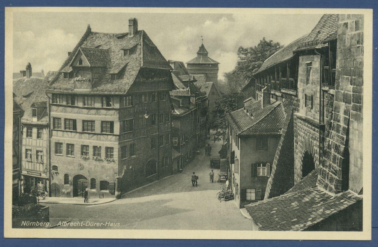 Nürnberg Albrecht-Dürer-Haus, ungebraucht (AK843 ...