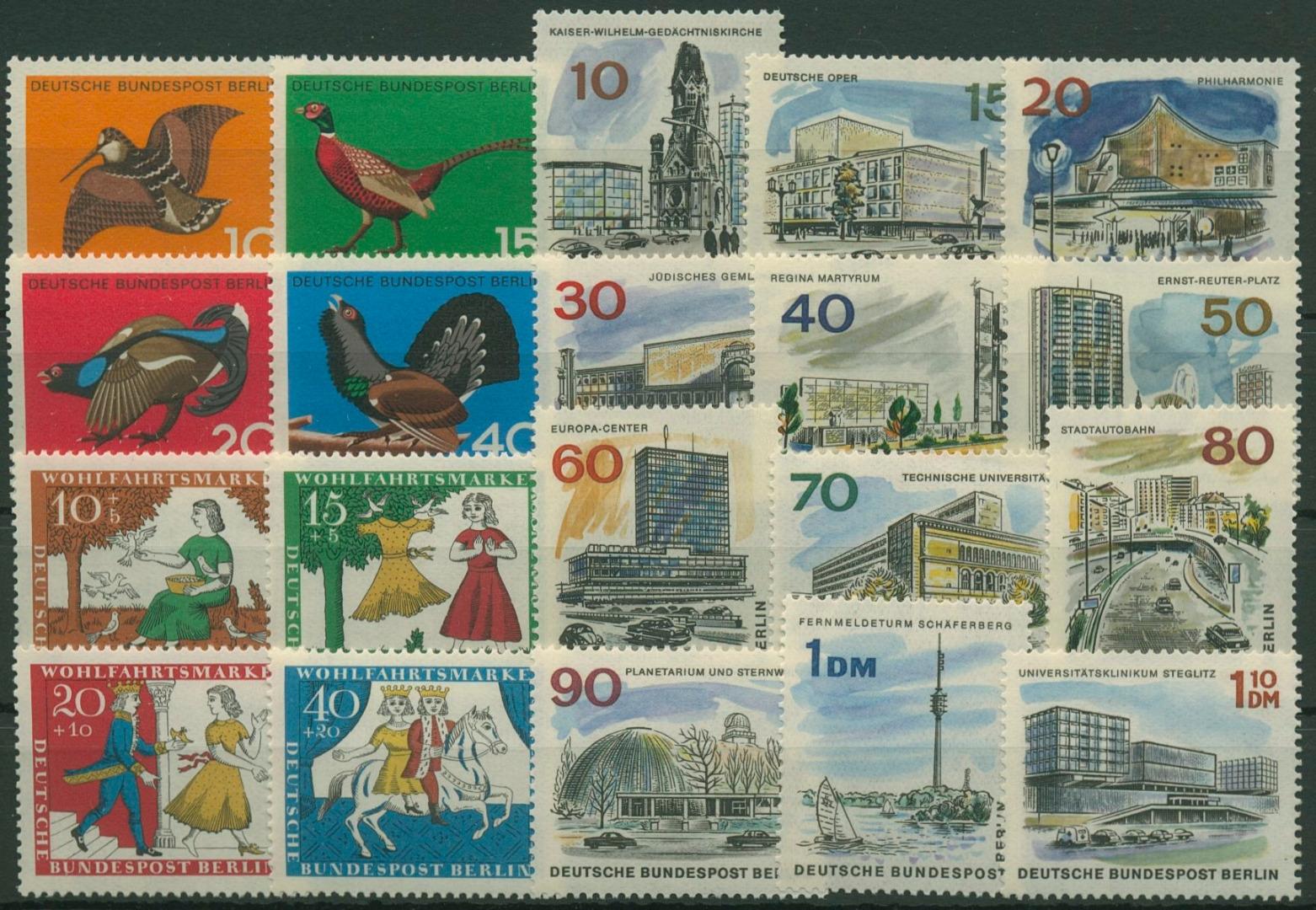 Berlin Jahrgang 1965 Komplett Postfrisch G6478 Briefmarken Dr