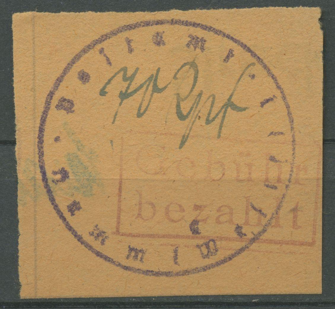 Hamm Westfalen Rechteckstempel Auf Briefformular 6 B Ungebraucht