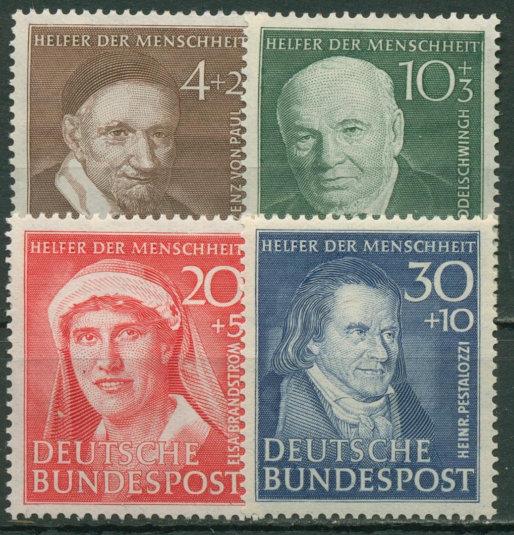 Bund 1951 Wohlfahrt Helfer Der Menschheit 14346 Postfrisch
