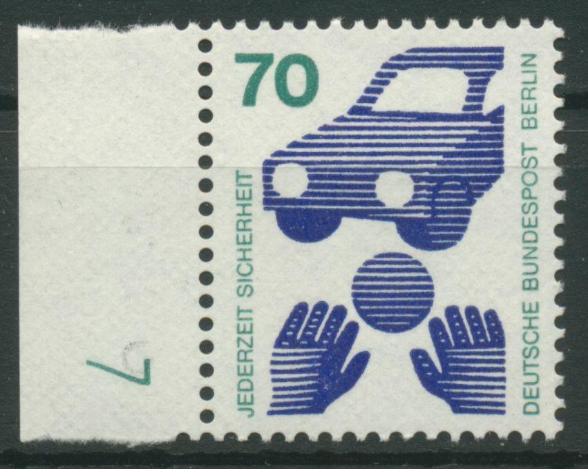 Berlin 1973 Unfallverhütung Mit Druckerzeichen 453 Dz 7 Grün