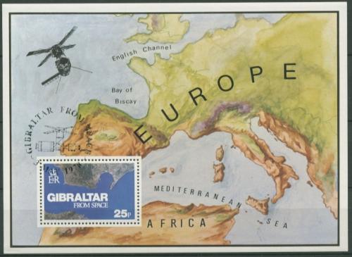 Geburtstag Von Michelangelo Briefmarken Gibraltar Mh 2 ** 500 Gibraltar