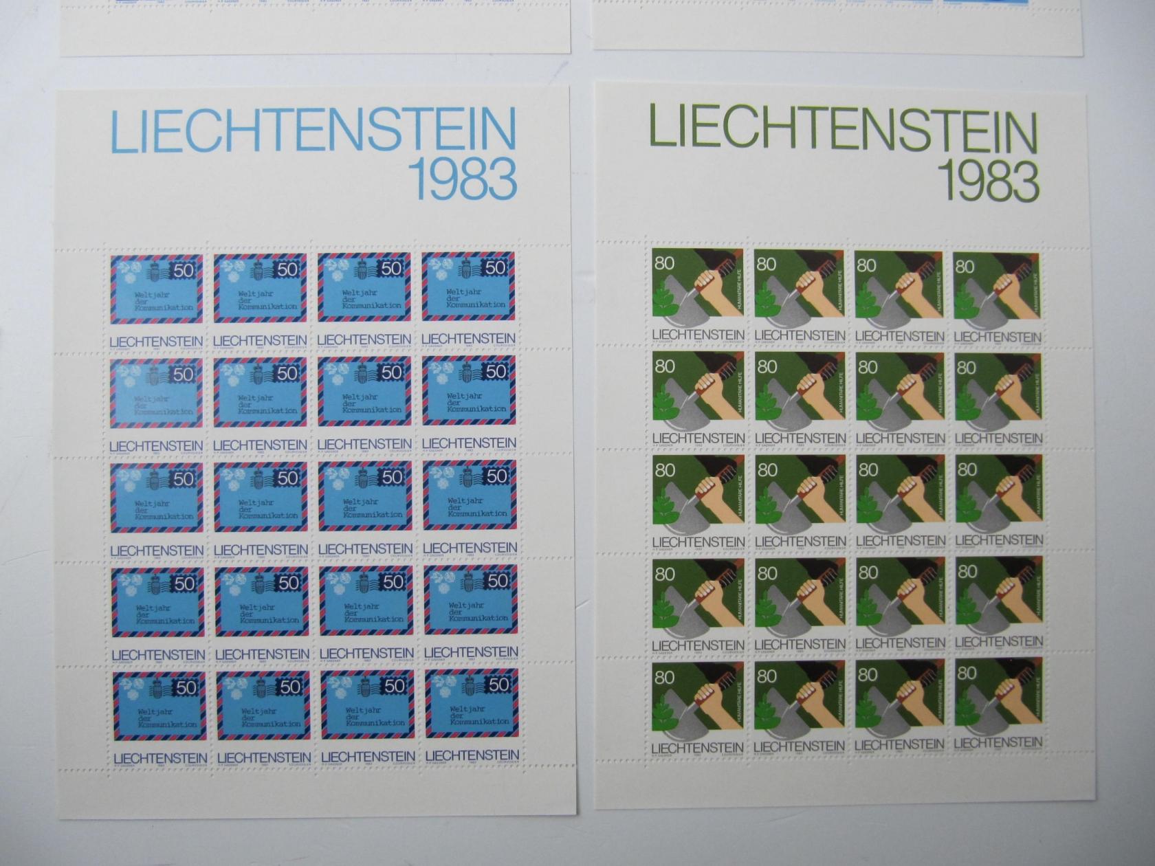 Gestempelt 1967 Freimarken Liechtenstein 486-494 kompl.ausg.