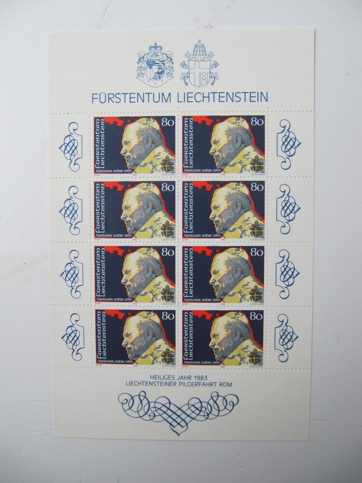 Postfrisch 1983 Kommunikation kompl.ausg. Monaco 1585