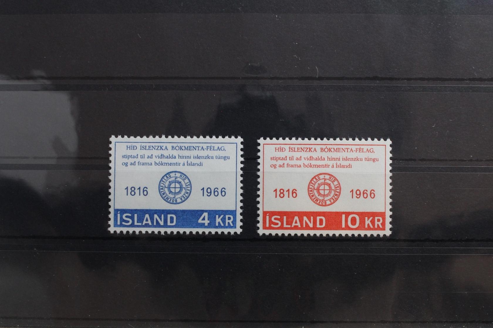 europa:5605 Island Michelnummer 608-609 Postfrisch Weihnachten & Feiertage