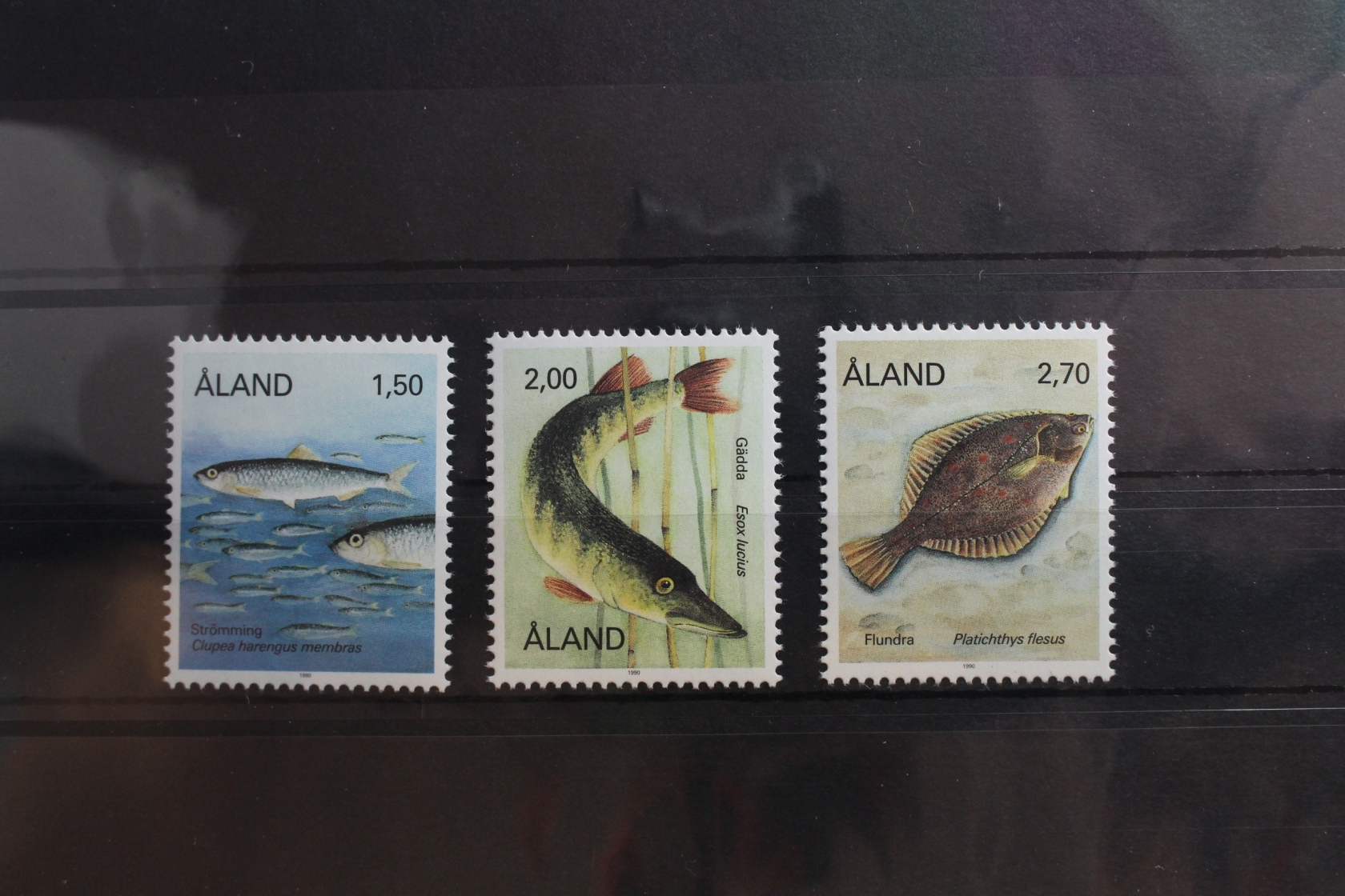 Postfrisch Briefmarken Jahresmappe 1992 Aland