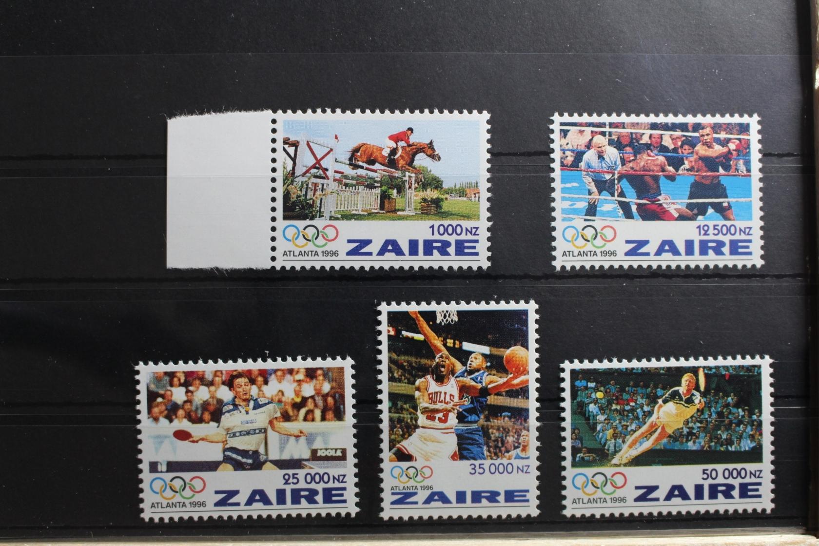 Kongo Zaire Block 32 Mit 639 ** Postfrisch Rowland Hill #re228