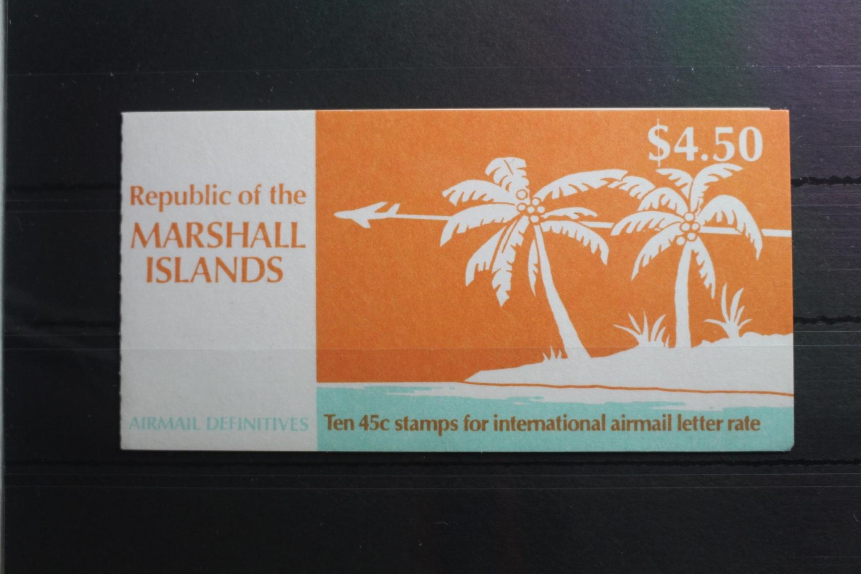 Australien, Ozean. & Antarktis Marshall-inseln 288-294 ** Postfrisch #sh513