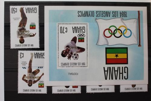 Afrika Briefmarken Ghana Block 115 **