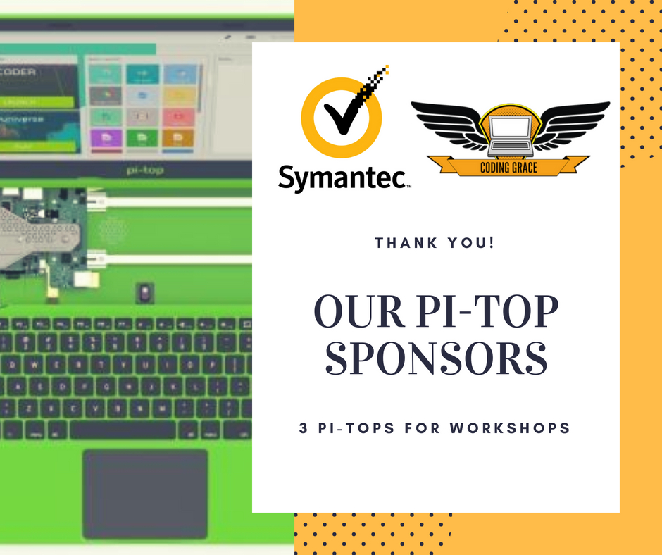 News] [ANN] Symantec Sponsors 3 Pi-Tops (incl Pis)