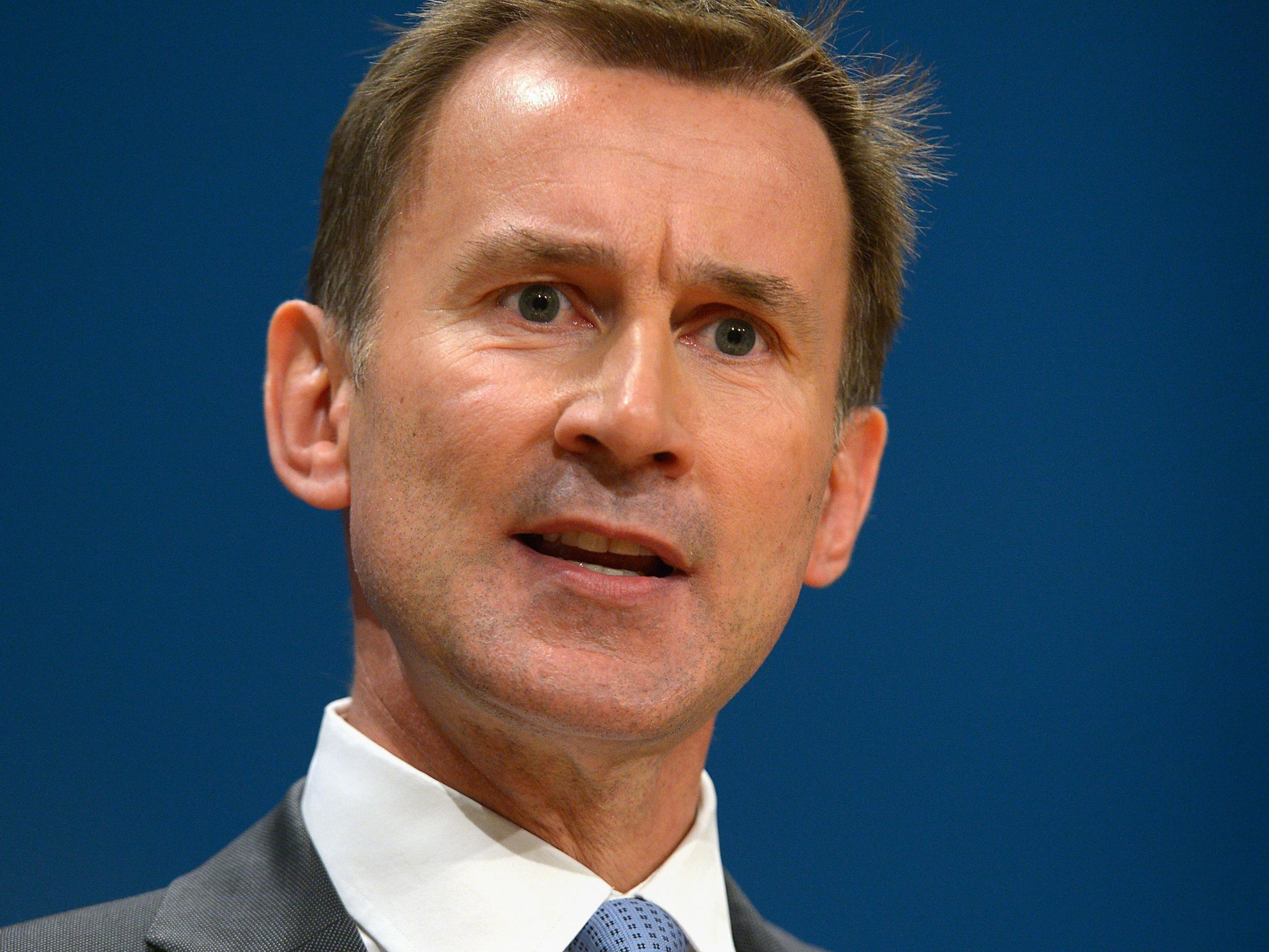 governme jeremy hunt accused - HD2500×1875