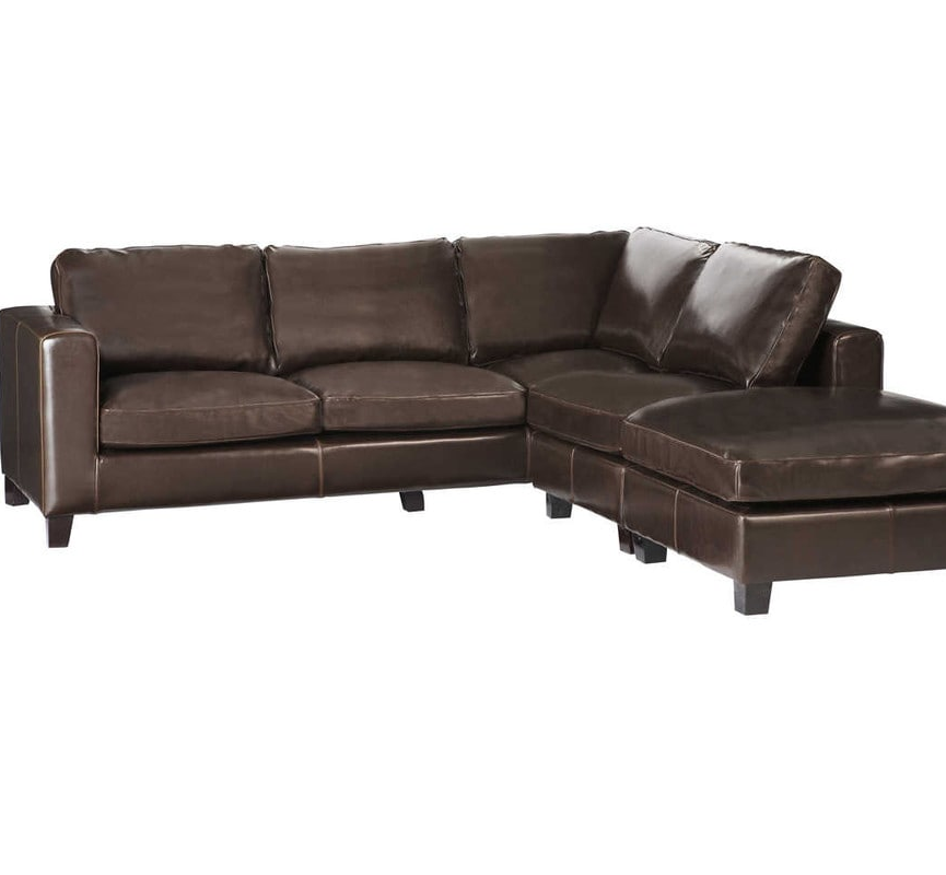 Brown Leather corner sofa, Brittany Everyday Marketplace | SmartExpat