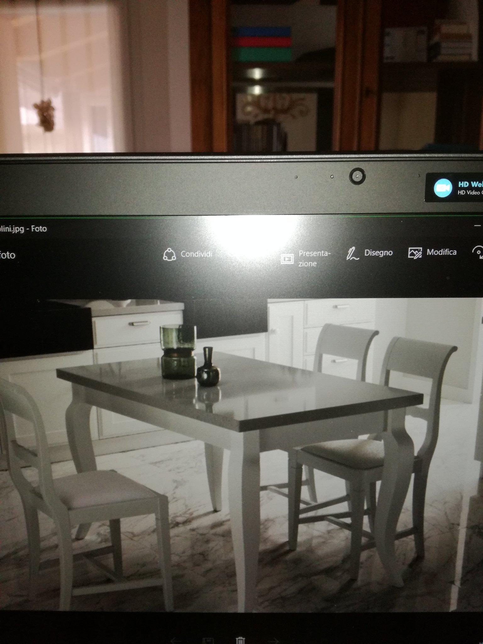 Costruire Tavolo classico in legno bianco con piano in quarzo 120 x ...