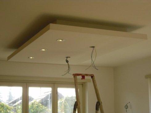 Abbassamento soffitto sala instapro - Abbassare il soffitto ...