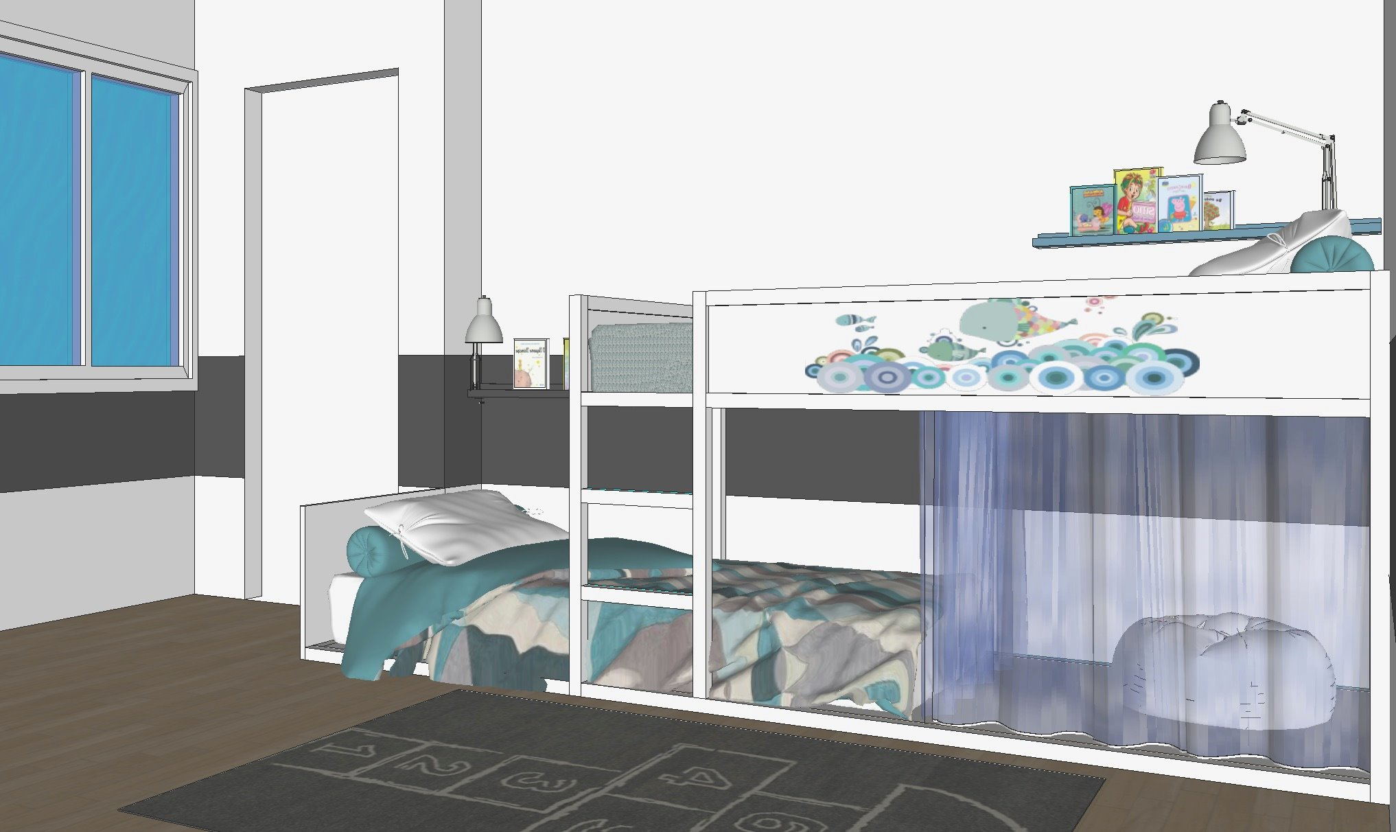 Letto Kura Ikea Istruzioni : Diy a castle bunk bed letto a castello a creative anna
