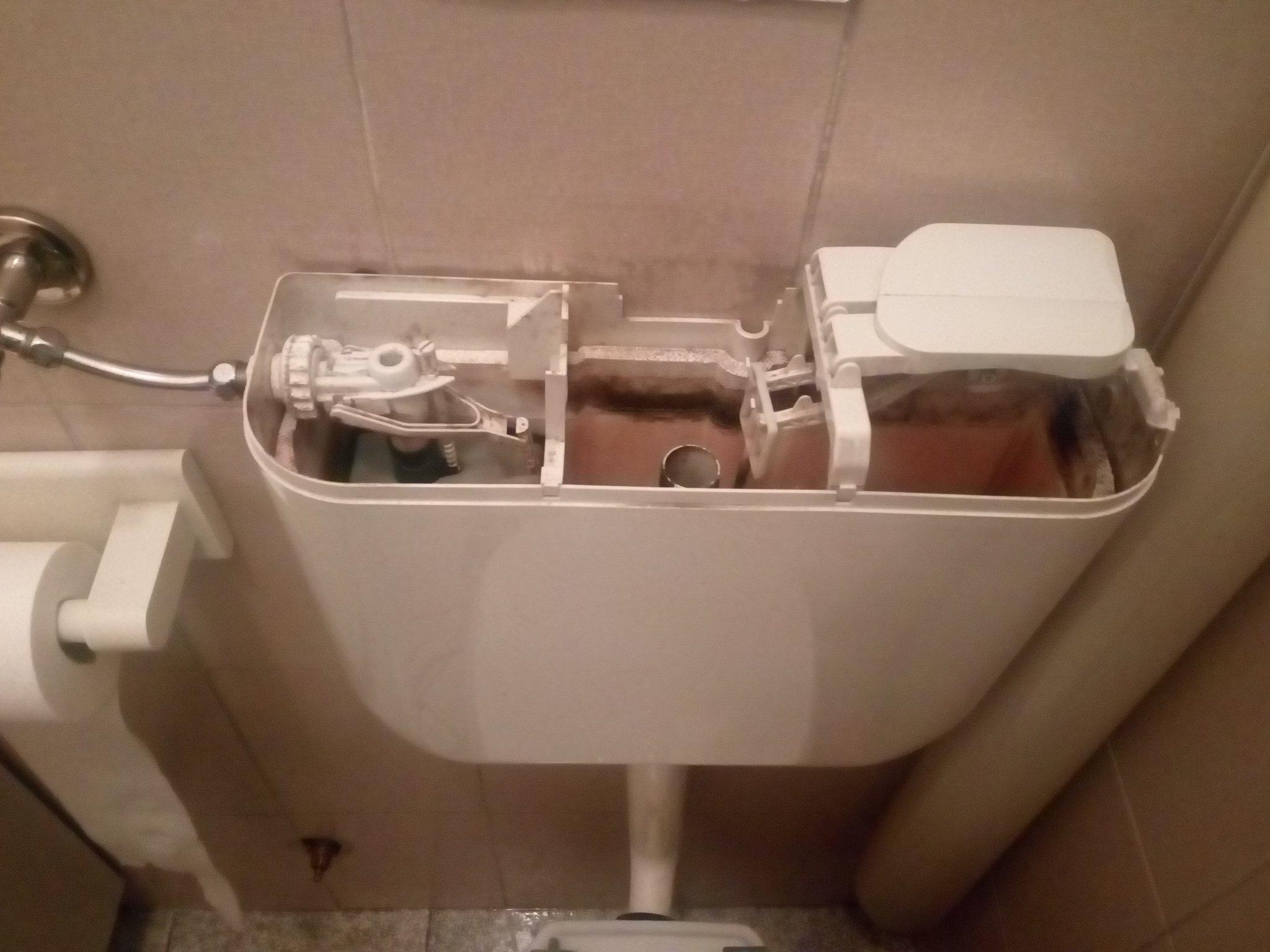 Sostituzione cassetta scarico wc instapro