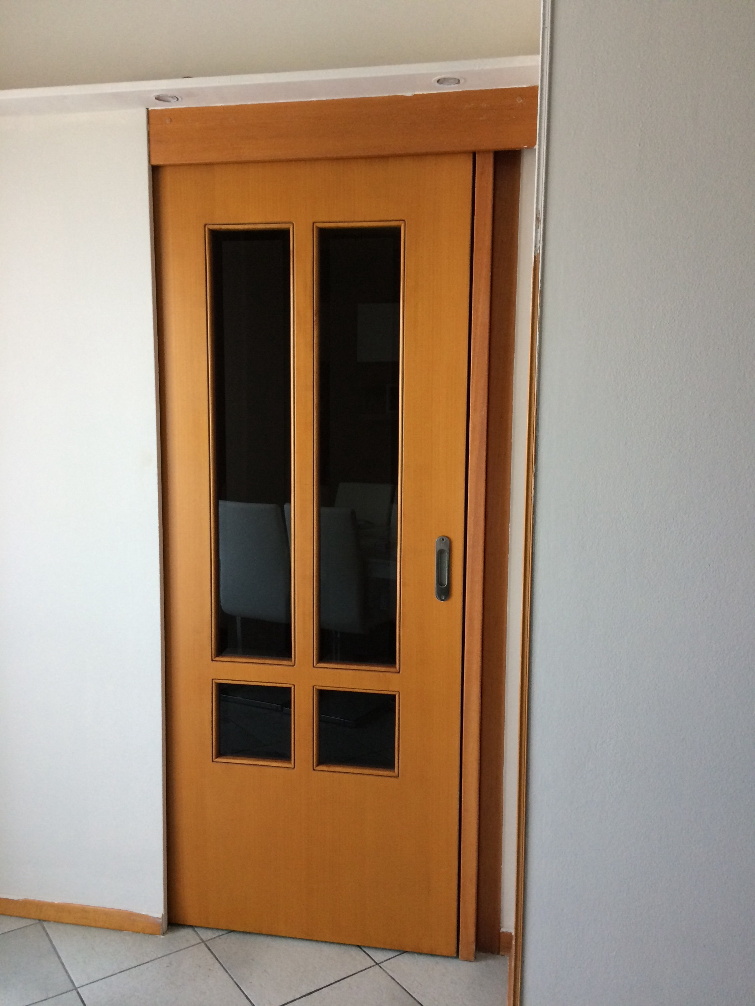 Come verniciare porte interne finest prima e dopo with - Laccare ante cucina ...