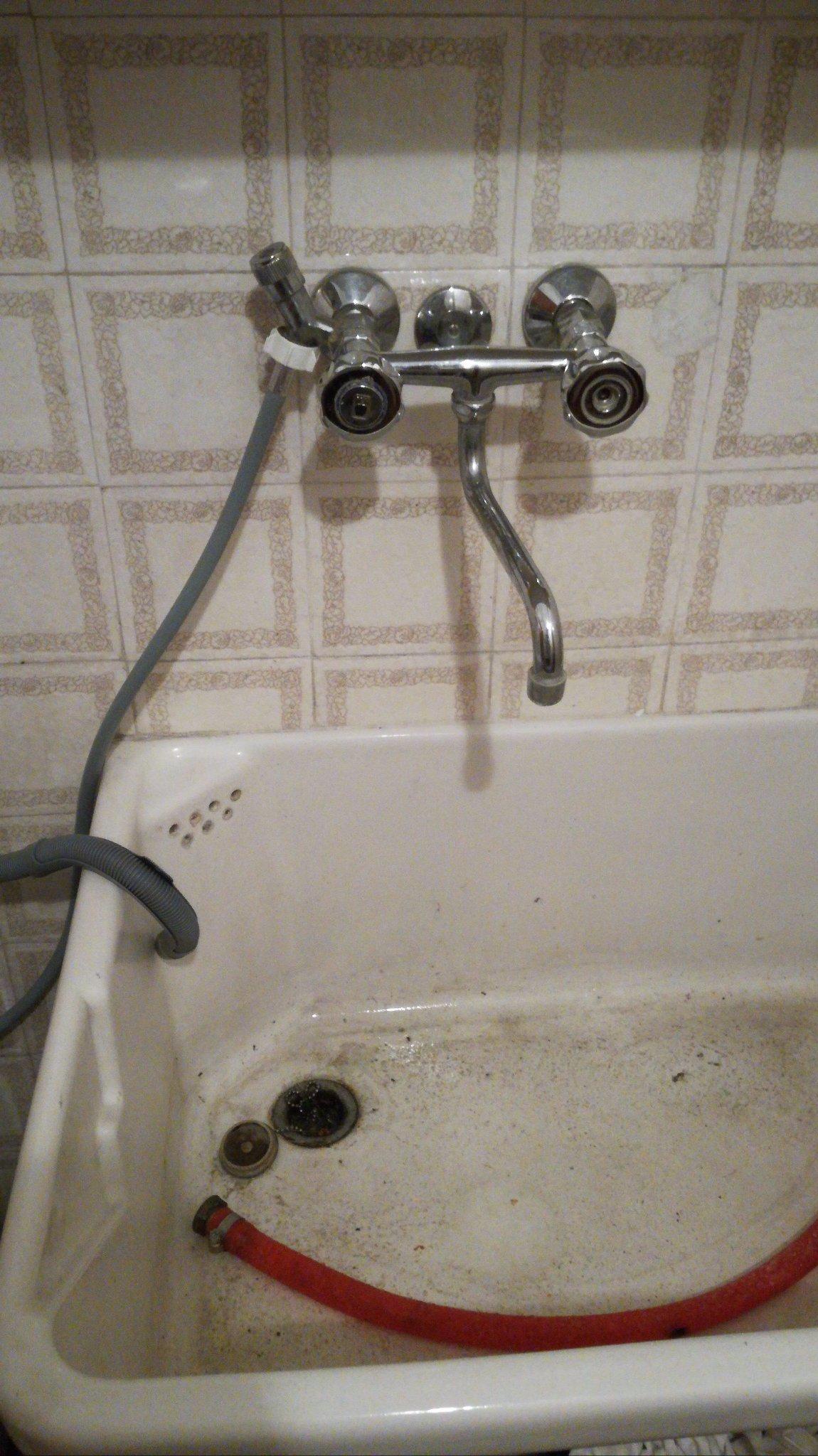 Attacco lavatrice e sostituzione rubinetto instapro - Cambiare rubinetto bagno ...