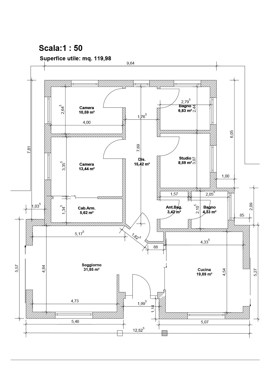 Costruzione edificio mono piano con tetto in legno mq for Costruisci tu stesso piani di casa