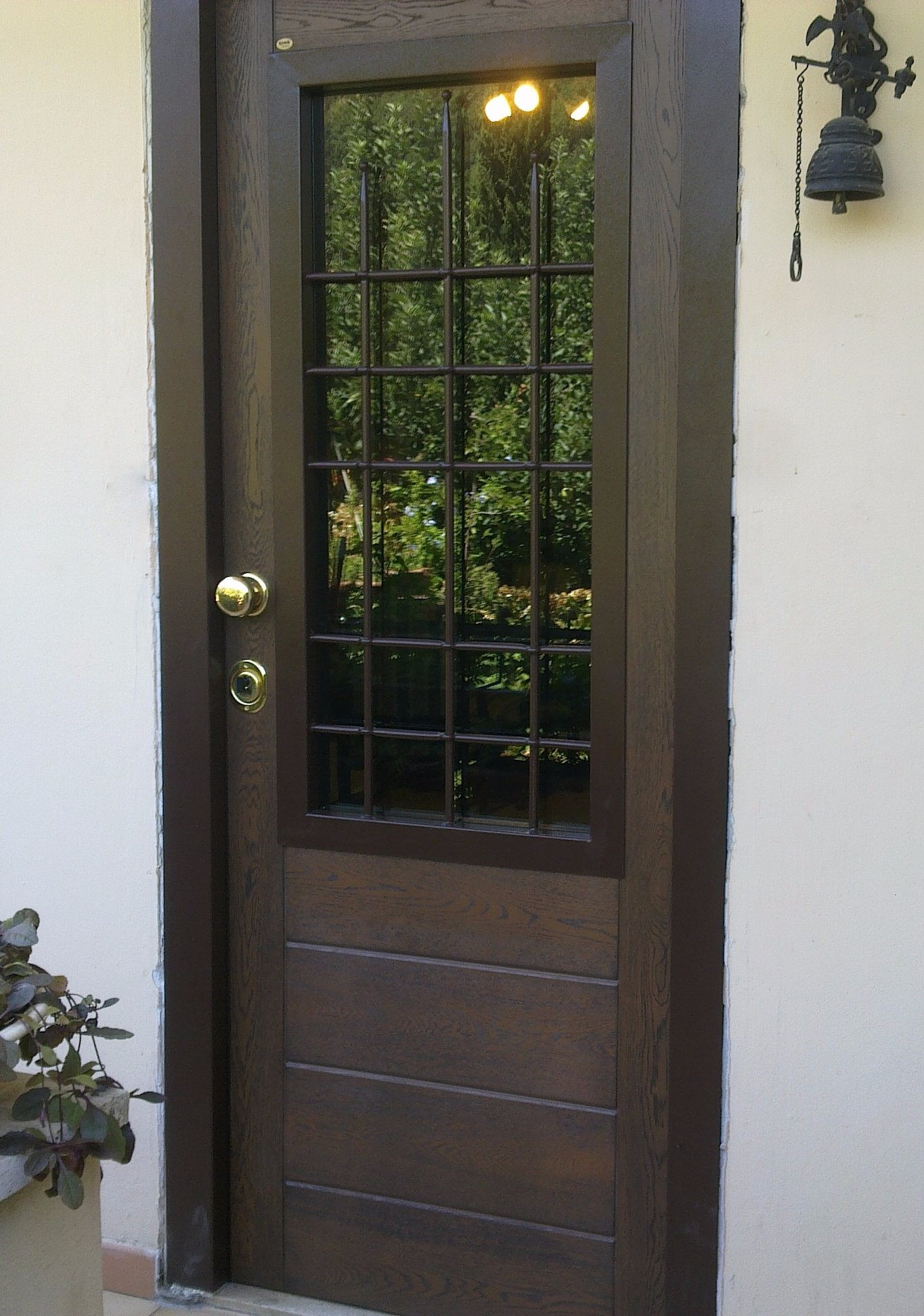 Porta blindata con vetro instapro - Porte esterne prezzi ...
