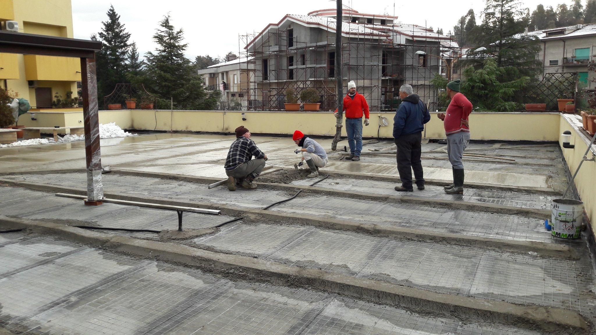 Impermeabilizzazione terrazzo - Instapro