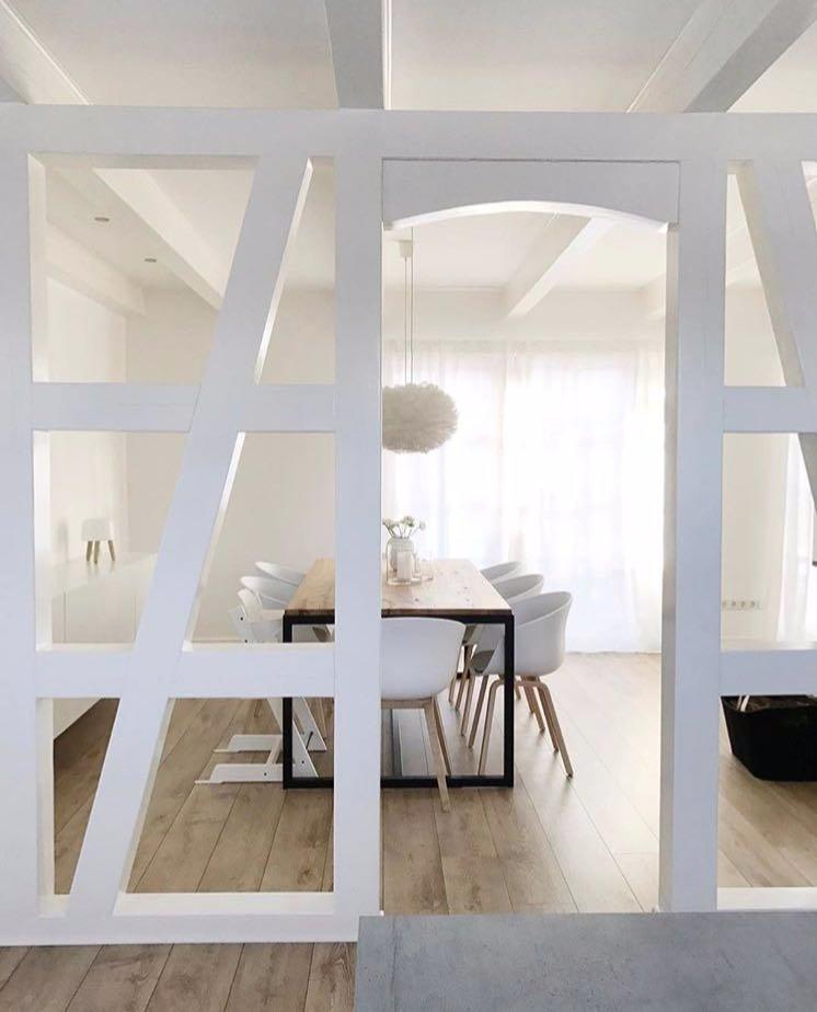 Creare una parete in cartongesso con delle finestre interne instapro - Parete divisoria in cartongesso ...