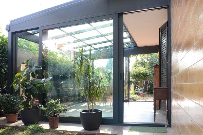 Creare veranda giardino d 39 inverno in terrazzo instapro for Giardino invernale
