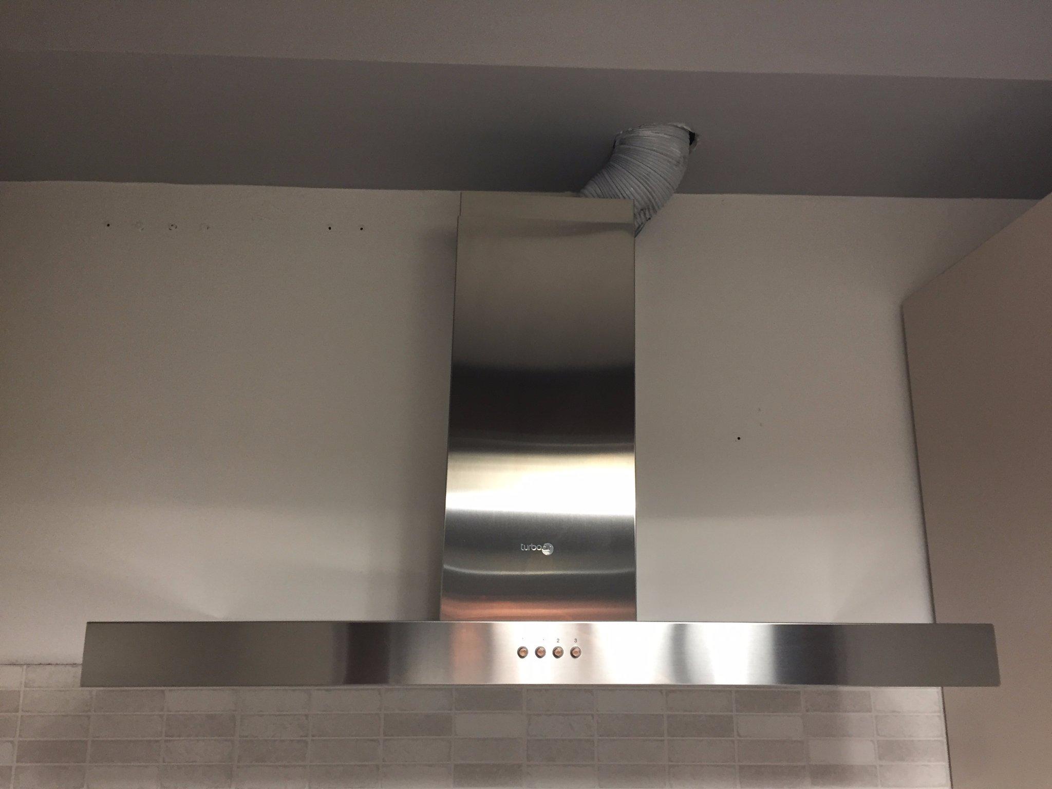 Tubo Per Cappa Cucina Design spostare fuga tubo cappa da struttura in cartongesso - instapro