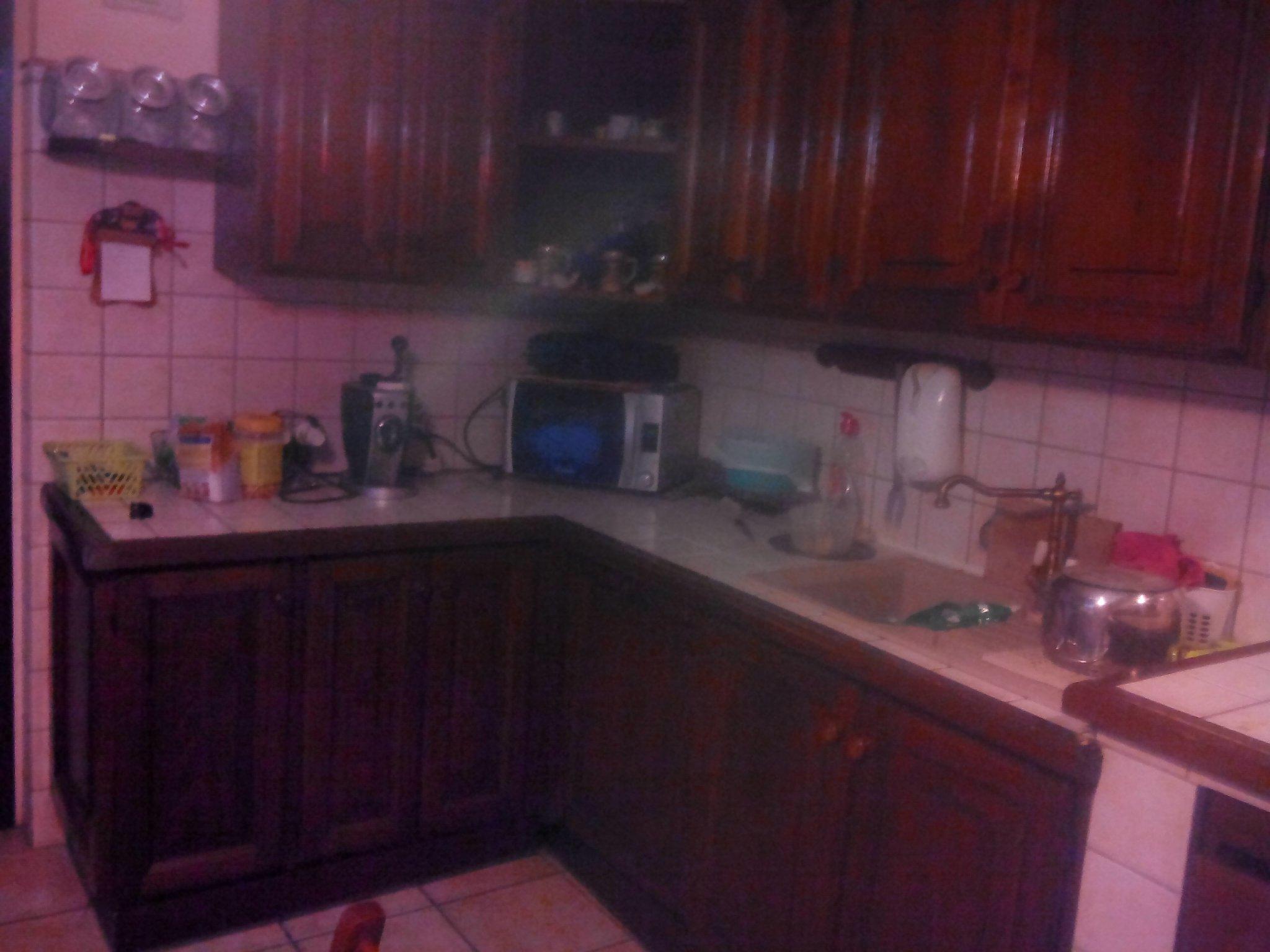 Laccatura/Rigenerazione mobili in legno di cucina e base nuova ...