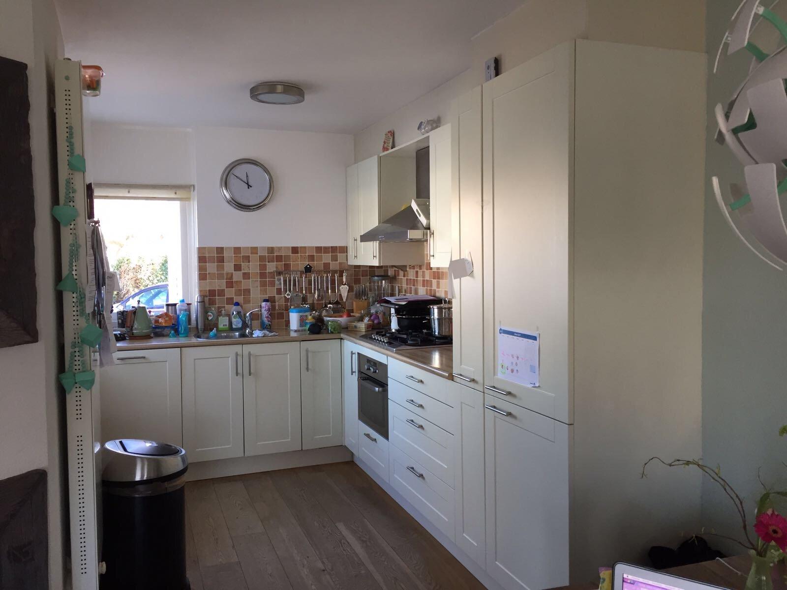 Keuken spuiten wrappen werkspot