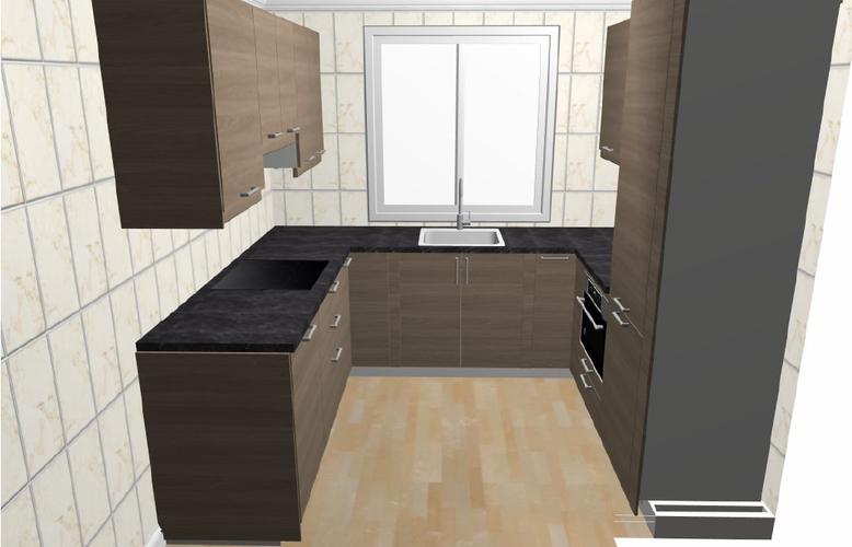 Keuken U Vorm : Ikea keuken plaatsen u vorm werkspot