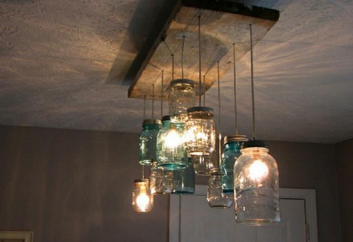 lamp maken van weckpotten en monteren werkspot. Black Bedroom Furniture Sets. Home Design Ideas