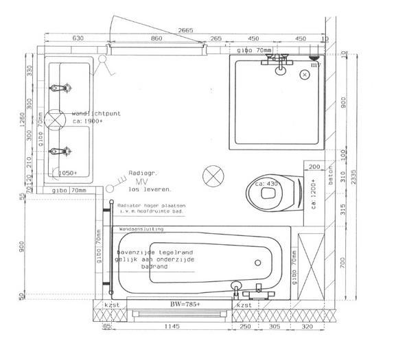 badkamer en toilet nieuwbouw werkspot