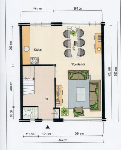 Stuccen van L vormige woonkamer - Werkspot
