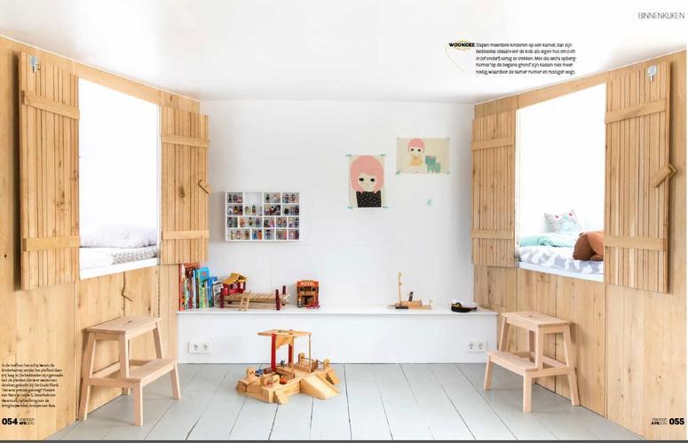 bedstee met kastruimte voor kinderkamer - werkspot, Deco ideeën