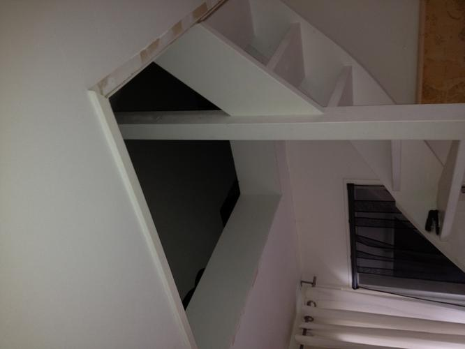 Houten luik voor trapgat zolder werkspot for Trapgat maken