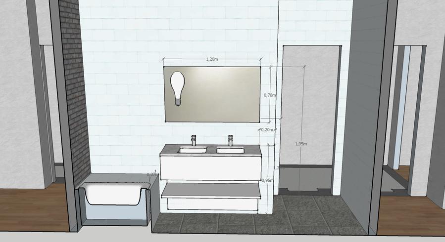 Aanleggen badkamer m en toilet werkspot