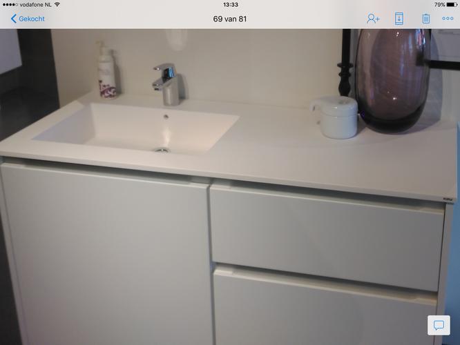 Kvik badkamermeubel Tinta monteren - Werkspot