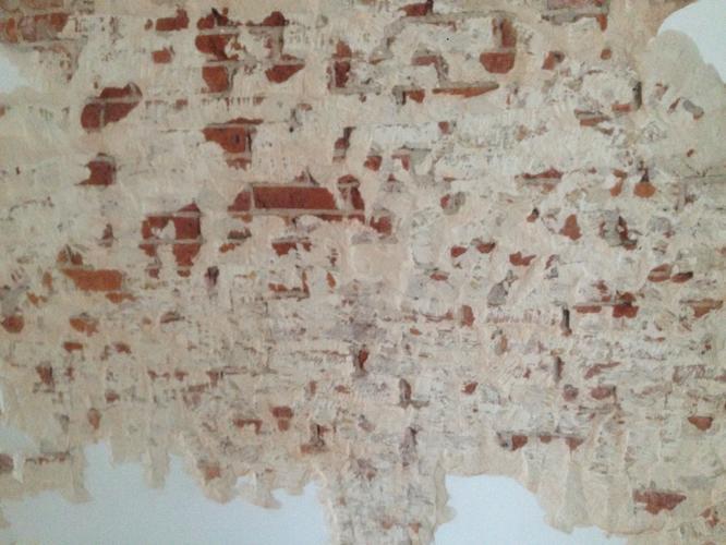 Voorkeur verwijderen resten stucwerk, bakstenen muur 2 m bij 1.5 m. - Werkspot PC71
