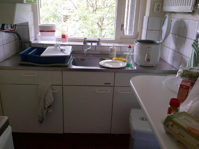 Keuken Zonder Inbouwapparatuur : Plaatsen kleine keuken zonder apparatuur werkspot